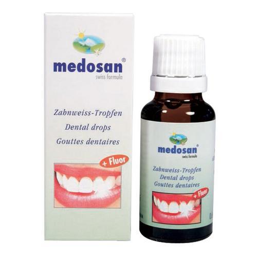 Set van 2 flesjes druppels voor de tanden