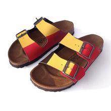 Sandales pour hommes aux couleurs belges BIRKI'S