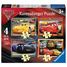 Lot de 4 puzzles Disney Cars 3 RAVENSBURGER