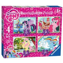 Set van 4 puzzels My Little Pony RAVENSBURGER
