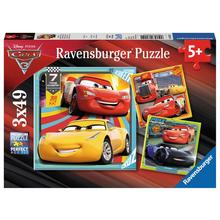 Set van 3 puzzels Disney Cars 3 RAVENSBURGER