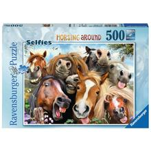 Puzzle Selfies! Horsing Around RAVENSBURGER