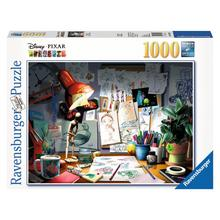 Puzzle Disney-Pixar: The Artist's Desk RAVENSBURGER