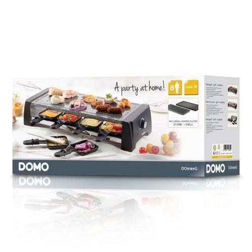 Pierre à griller/raclette/gril DOMO DO9189G