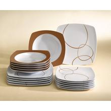 18-delig servies in melamine