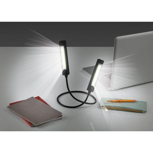 Lampe duo flexible avec éclairage LED EASYMAXX