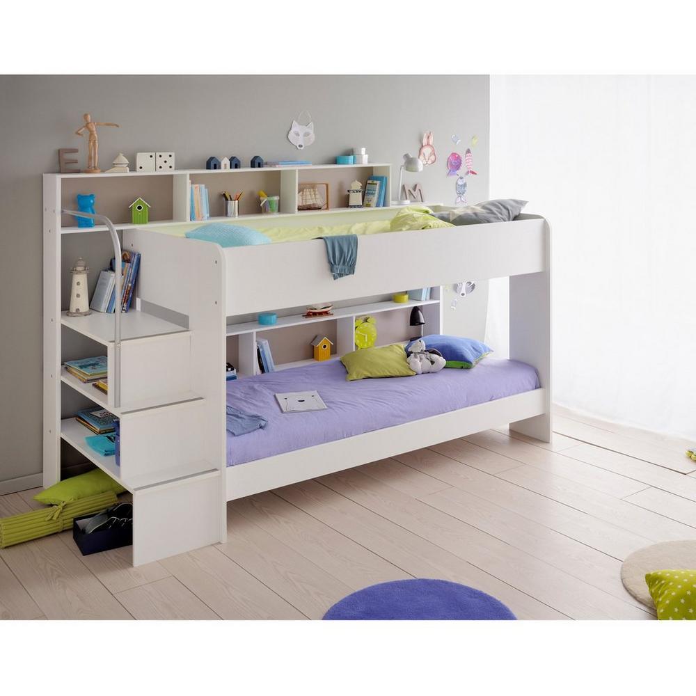 Lit Superposé Marche Escalier lits superposés florentina - lits d'enfant - unigro.be