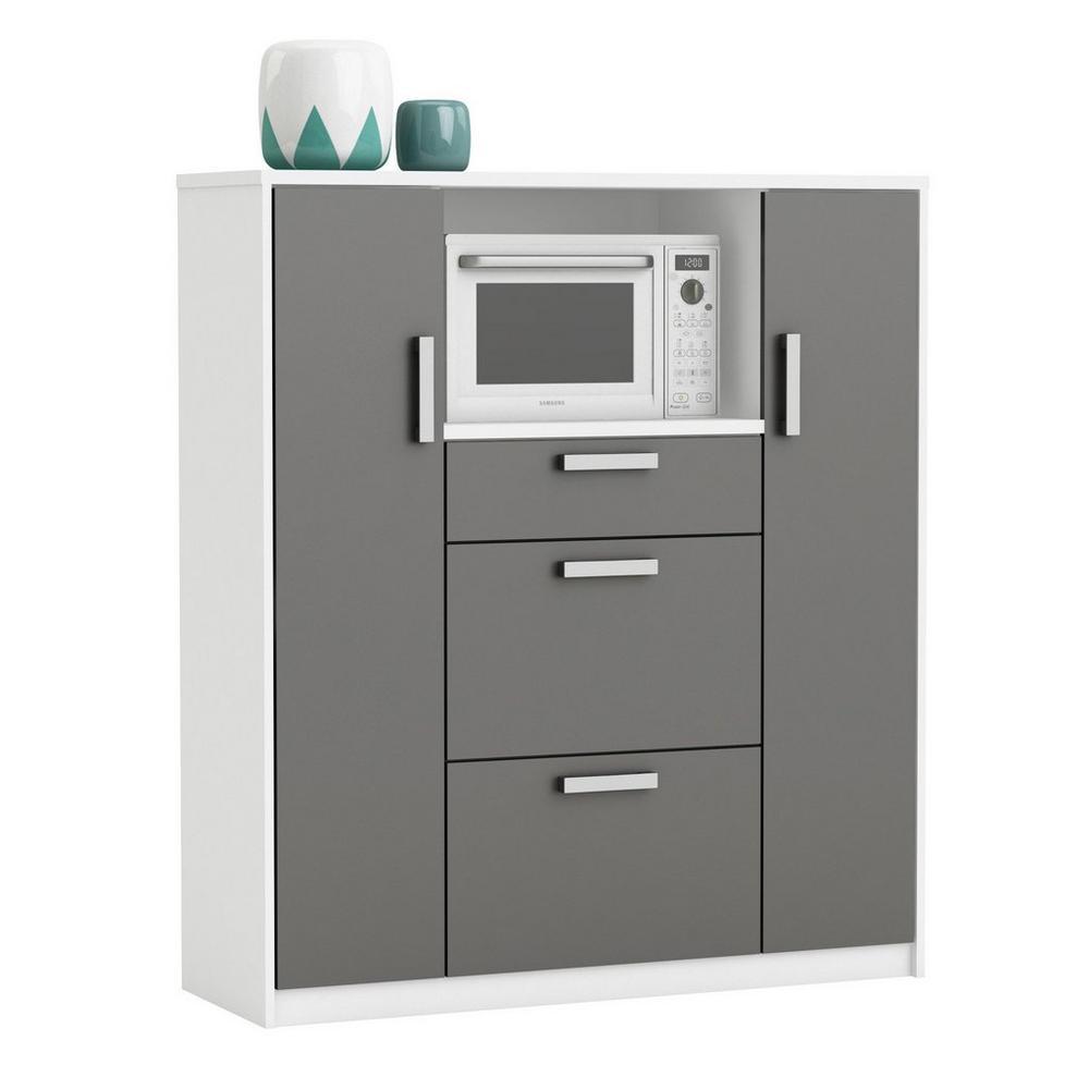 Meuble Cuisine Four Et Micro Onde meuble pour four à micro-ondes - armoires de cuisine - unigro.be