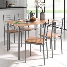 Table + lot de 4 chaises