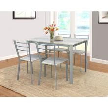 Set tafel + 4 stoelen