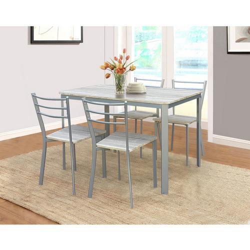 Table + lot de 4 chaises