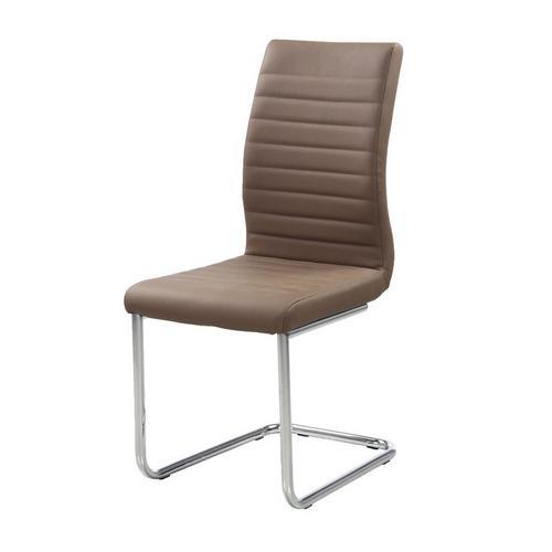 Set van 4 stoelen in kunstleder