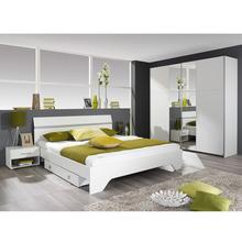 Chambre à coucher 2 personnes + sommier Mila