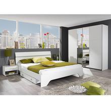 Chambre à coucher 2 personnes Mila + sommier