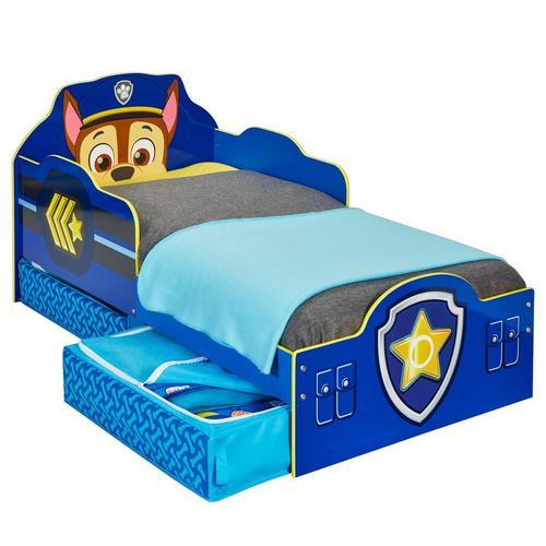 Kinderbed Paw Patrol + bodem + matras