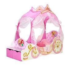 Kinderbed + bodem + matras Disney Princess