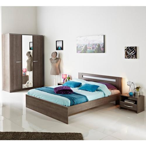 Set van 2 nachtkastjes Indra