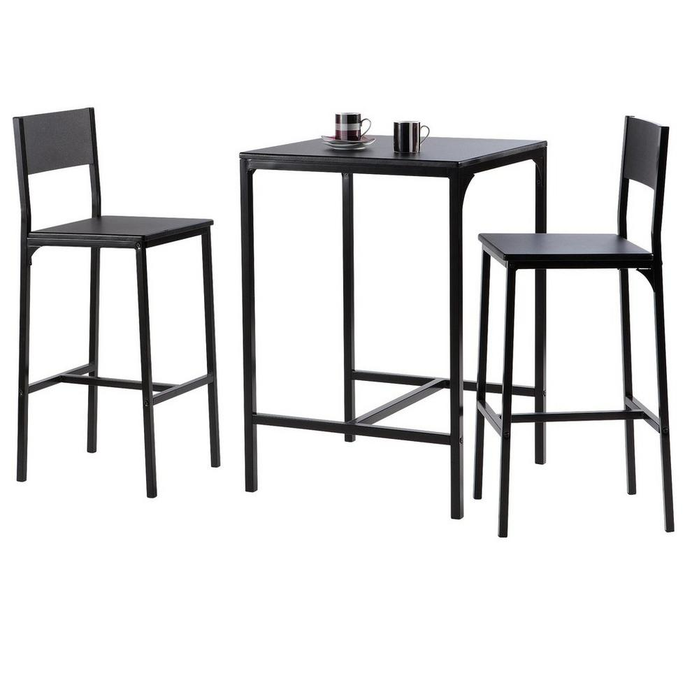 Wonderbaar Bartafel + 2 barkrukken - Stoelen & tafels - UNIGRO.be WQ-35