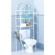Étagère de salle de bain en métal