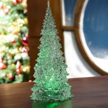 Kerstboom met led-verlichting