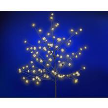 Arbre en fleurs de 150 cm avec éclairage LED