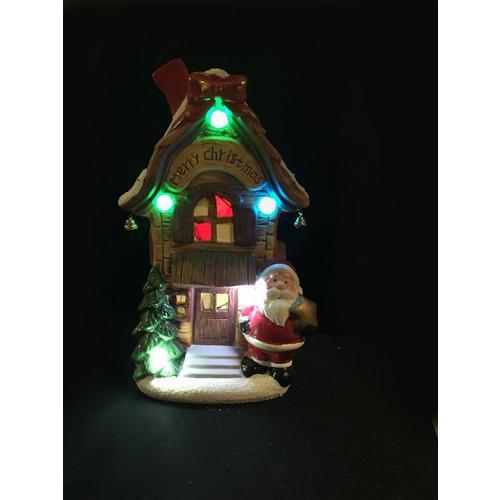 Kersttafereel met kerstfiguur