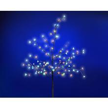 Arbre en fleur 180 cm avec éclairage LED