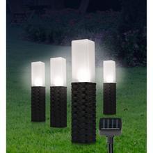 Lot de 4 lampes solaires EASYMAXX