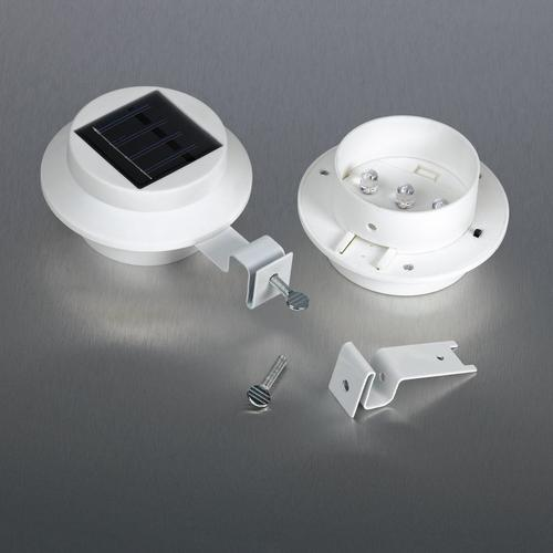Lot de 3 lampes solaires LED
