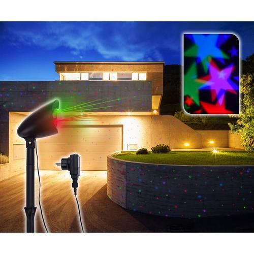Projecteur LED avec figure en mouvement