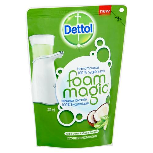Recharge Foam Magic Aloe Vera & Coco Splash DETTOL