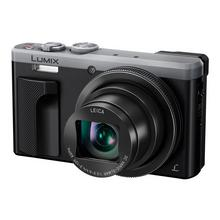 Panasonic Lumix DMC-TZ80 - Digitale camera compact 18.1 MP 4K / 25 beelden per seconde 30x optische zoom Leica Wi-Fi zilver