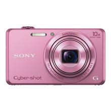 SONY Cyber-shot DSC-WX220 - Digitale camera compact 18.2 MP 10x optische zoom Wi-Fi, NFC roze