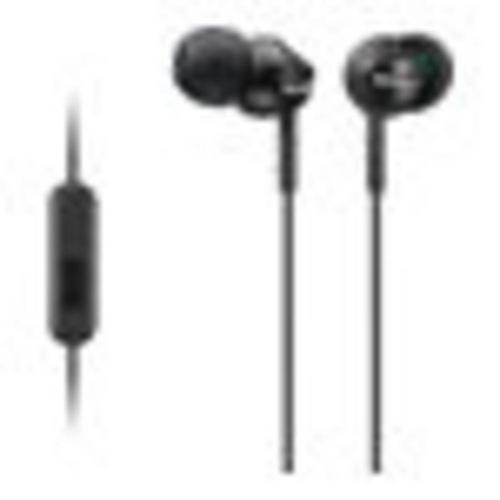 SONY MDR-EX110AP - Écouteurs avec micro intra-auriculaire filaire jack 3,5mm rouge