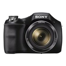 SONY Cyber-shot DSC-H300 - Digitale camera compact 20.1 MP 720p 35x optische zoom zwart
