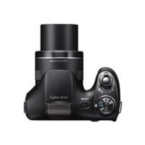 SONY Cyber-shot DSC-H300 - Appareil photo numérique compact 20.1 MP 720 p 35x zoom optique noir