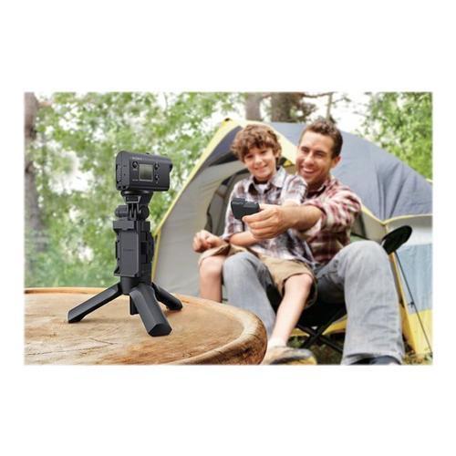 SONY Action Cam-HDR-AS50 - Caméra de poche 1080p / 60 pi/s 11.1 mégapixel Carl Zeiss Wi-Fi sous-marin jusqu'à m noir