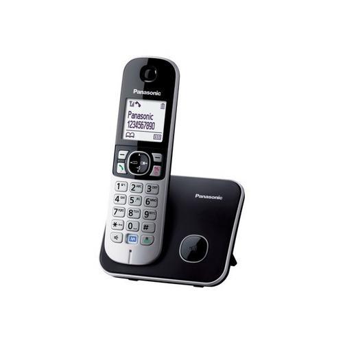 PANASONIC KX-TG6811 - Téléphone sans fil avec ID d'appelant DECT\GAP noir