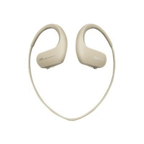SONY Walkman NW-WS413 - Hoofdband digitale speler 4 GB ivoor