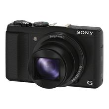 SONY Cyber-shot DSC-HX60 - Digitale camera compact 20.4 MP 30x optische zoom Wi-Fi, NFC zwart