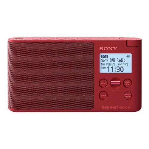 SONY XDR-S41D - DAB draagbare radio 0.65 Watt rood