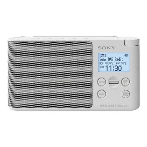 SONY XDR-S41D - DAB draagbare radio 0.65 Watt wit
