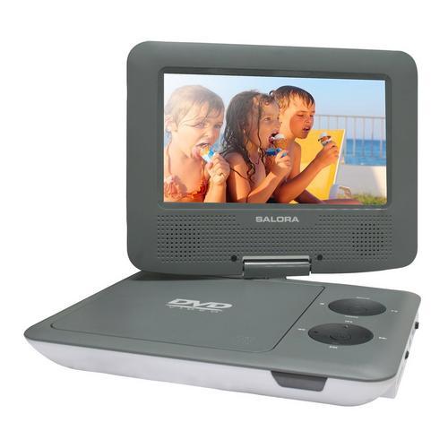 Lecteur DVD portable SALORA DVP7009SW