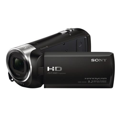SONY Handycam HDR-CX240E - Camcorder 1080p 2.51 MP 27x optische zoom Carl Zeiss flash-kaart zwart