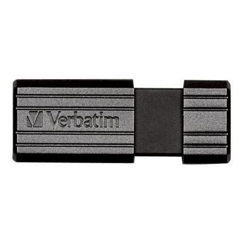 VERBATIM PinStripe USB Drive - Clé 32 Go 2.0 noir