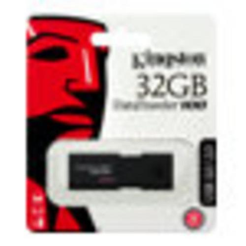 KINGSTON DataTraveler 100 G3 - Clé USB 32 Go 3.0 noir