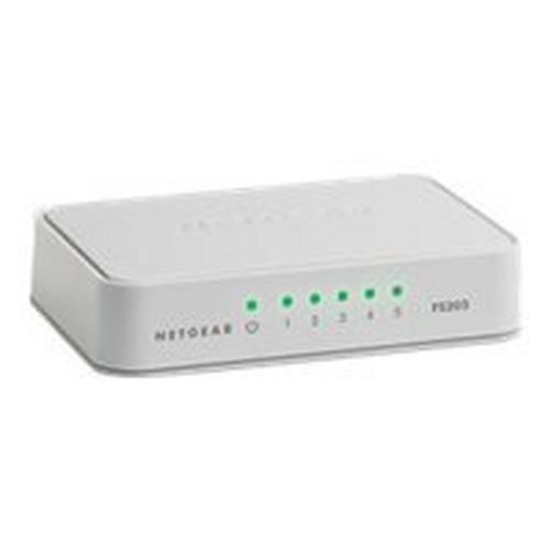 NETGEAR FS205 - Switch onbeheerd 5 x 10/100 desktop