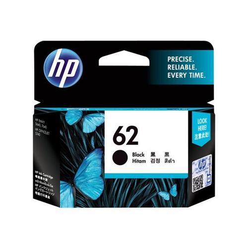 HP 62 - Noir originale cartouche d'encre pour Envy 55XX, 56XX, 76XX; Officejet 250, 57XX, 8040