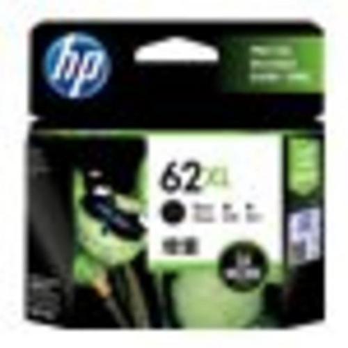 HP 62XL - À rendement élevé noir originale cartouche d'encre pour Envy 55XX, 56XX, 76XX; Officejet 200, 250, 252, 57XX, 8040