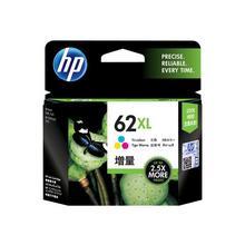 HP 62XL - Hoog rendement driekleur op verfbasis origineel blister inktcartridge voor Envy 55XX, 56XX, 76XX Officejet 200, 250, 252, 57XX, 8040